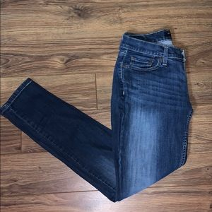3/$20 Levi's too-super low skinny jeans